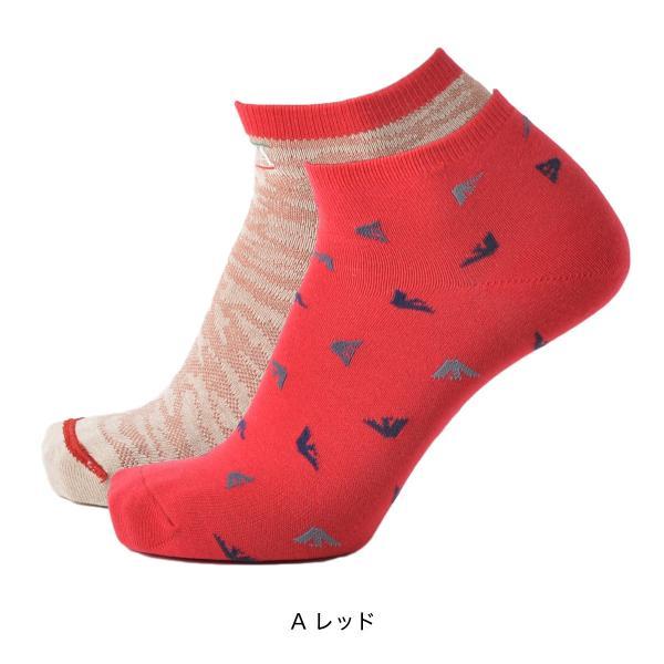 EMPORIO ARMANI エンポリオ アルマーニ NEWリバーシブル スニーカー丈 メンズ 紳士 ソックス 靴下 ポイント10倍|glanage|07