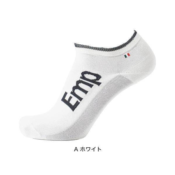 EMPORIO ARMANI エンポリオ アルマーニ スポーツ EMPロゴ 足底滑り止め付 スニーカー丈 メンズ 紳士 ソックス 靴下 ポイント10倍|glanage|07