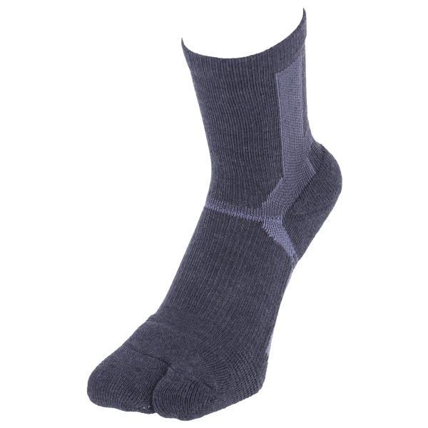 ウォーキング 2本指 足袋型 メンズ 靴下 NAIGAI PERFORMANCE ナイガイ パフォーマンス 総パイル仕様 クルー丈 ソックス 2332-206|glanage|11