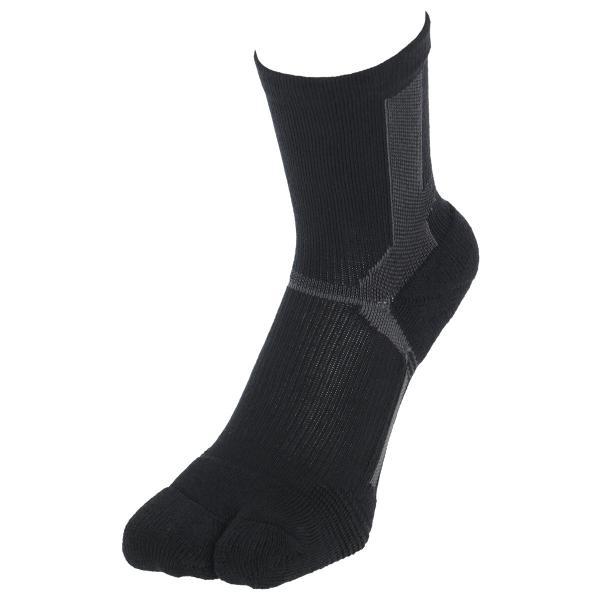 ウォーキング 2本指 足袋型 メンズ 靴下 NAIGAI PERFORMANCE ナイガイ パフォーマンス 総パイル仕様 クルー丈 ソックス 2332-206|glanage|13