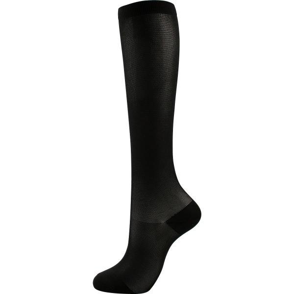 着圧ソックス 白 黒 強圧 弾性ストッキング 女性 靴下 足のむくみ 当店オリジナル ふくらはぎ30hpa 足首40hpa ポイント10倍|glanage|09