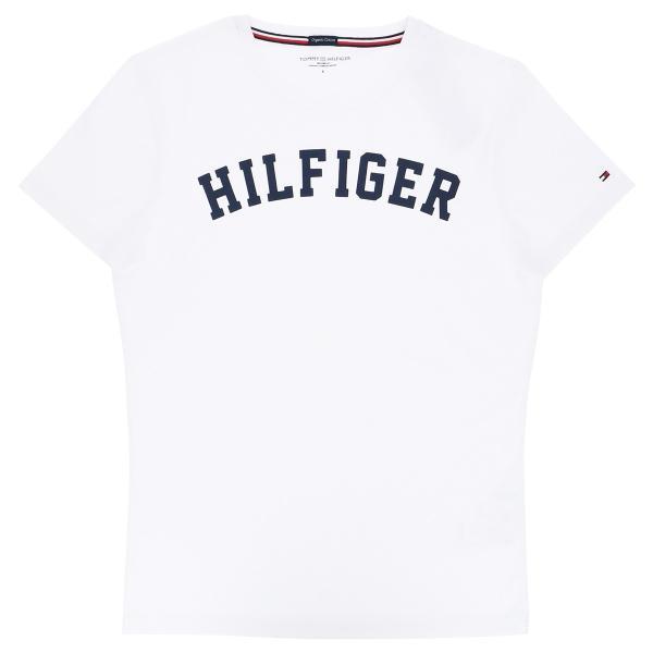 TOMMY HILFIGER|トミーヒルフィガー Tシャツ クルーネック ロゴ 半袖 オーガニックコットン 100% メンズ ポイント10倍|glanage|09