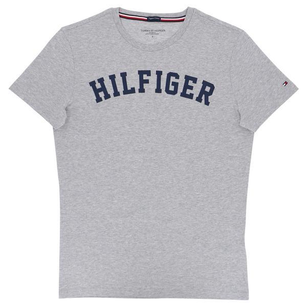 TOMMY HILFIGER|トミーヒルフィガー Tシャツ クルーネック ロゴ 半袖 オーガニックコットン 100% メンズ ポイント10倍|glanage|10
