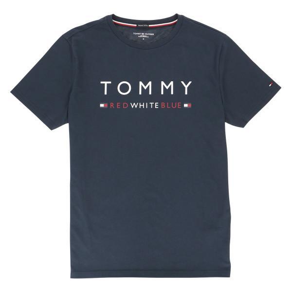 TOMMY HILFIGER トミーヒルフィガー 【COTTON ICON】 CN TEE SS LOGO FLAG コットン100% ロゴ 半袖 Tシャツ メンズ ポイント10倍|glanage|08