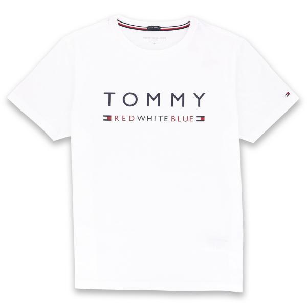 TOMMY HILFIGER トミーヒルフィガー 【COTTON ICON】 CN TEE SS LOGO FLAG コットン100% ロゴ 半袖 Tシャツ メンズ ポイント10倍|glanage|09