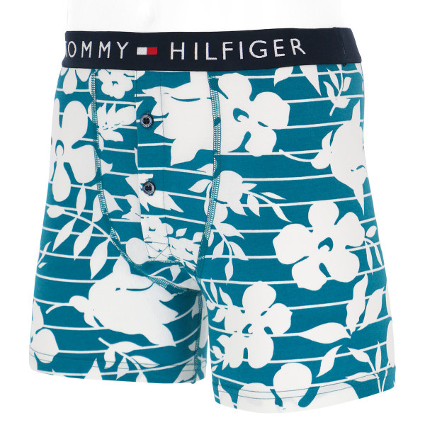 TOMMY HILFIGER トミーヒルフィガー TOMMY ORIGINAL COTTON BUTTONFLY BOXER BRIEF FLOWER PRINT ボクサーパンツ ポイント10倍 glanage 12