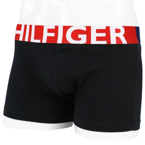 TOMMY HILFIGER トミーヒルフィガー ボクサーパンツ HILFIGER COTTON STRECH TRUNK ヒルフィガー コットンストレッチ ローライズ トランク ポイント10倍|glanage|10