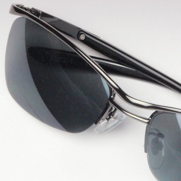 サングラス おしゃれ 男性用 メンズ 伊達メガネ 紫外線カット UVカット かっこいい ちょい悪 ちょいワル メタル ナイロール FI2002|glass-garden|13