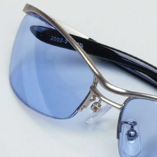 サングラス おしゃれ 男性用 メンズ 伊達メガネ 紫外線カット UVカット かっこいい ちょい悪 ちょいワル メタル ナイロール FI2002|glass-garden|24