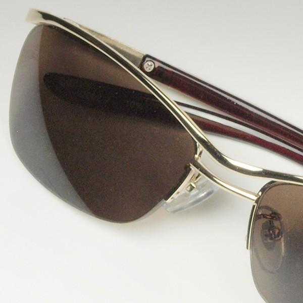 サングラス おしゃれ 男性用 メンズ 伊達メガネ 紫外線カット UVカット かっこいい ちょい悪 ちょいワル メタル ナイロール FI2002|glass-garden|22