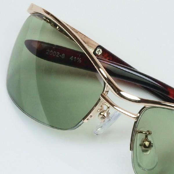 サングラス おしゃれ 男性用 メンズ 伊達メガネ 紫外線カット UVカット かっこいい ちょい悪 ちょいワル メタル ナイロール FI2002|glass-garden|26