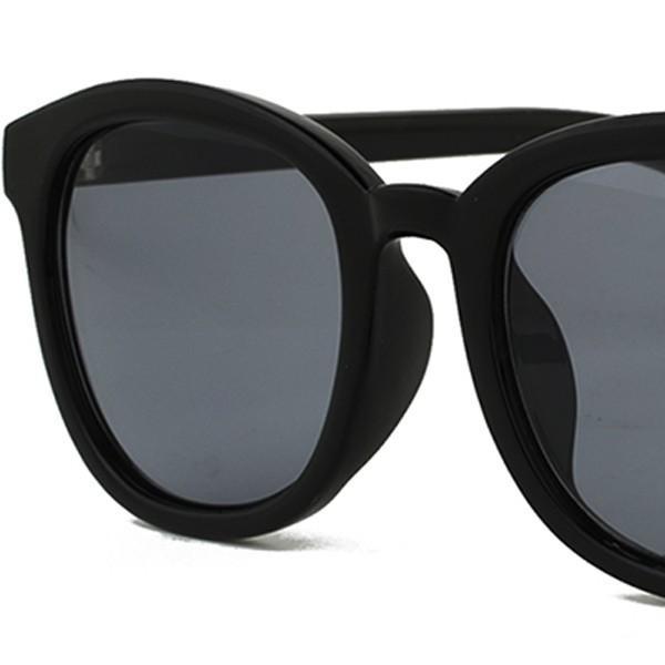 サングラス レディース UVカット おしゃれ ボストン ウェリントン 女性 メンズ ボスリントン 大きめ ベージュ べっこう柄 黒ぶち FI5067|glass-garden|14