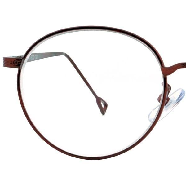 老眼鏡 おしゃれ レディース ラウンド 丸メガネ 女性用 リーディンググラス メタル ヴィンテージ クラシック +1.0から ゴールド シルバー FLC-003 glass-garden 14
