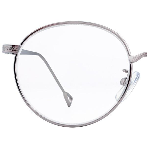 老眼鏡 おしゃれ レディース ラウンド 丸メガネ 女性用 リーディンググラス メタル ヴィンテージ クラシック +1.0から ゴールド シルバー FLC-003 glass-garden 13