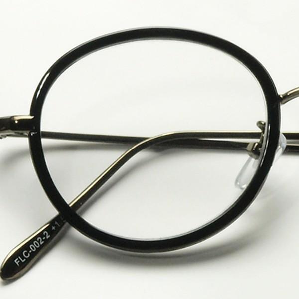 老眼鏡 レディース おしゃれ 女性用 リーディンググラス メンズ 男性用 ボストン ラウンド べっこう柄 黒 FLC-002|glass-garden|11