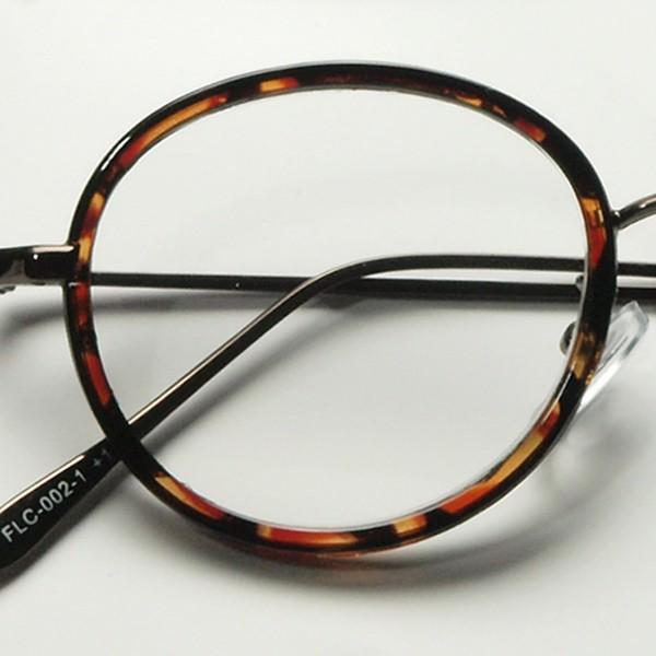 老眼鏡 レディース おしゃれ 女性用 リーディンググラス メンズ 男性用 ボストン ラウンド べっこう柄 黒 FLC-002|glass-garden|10
