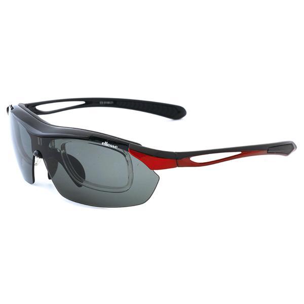 エレッセ スポーツサングラス ES-S108 度付き対応 インナーフレーム メンズ 偏光レンズ 交換レンズ5枚 ゴルフ  マラソン ランニング サイクリング 送料無料|glass-splash|04