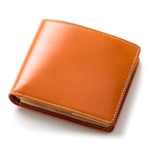 財布 二つ折り財布 メンズ 二つ折り 本革 英国ブライドルレザー ブリティッシュグリーン BRITISH GREEN 名入れ無料 母の日特集|GLENCHECK