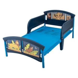 【お盆もあすつく】デルタ Delta 子供用 ベッド トドラーベッド Toddle Bed 組み立て式 幼児用 インテリア キャラクター glv 20