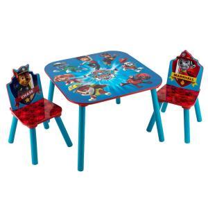 【お盆もあすつく】デルタ Delta テーブル & チェア 2脚 セット Table & Chair Set 子供部屋 キッズ 机 イス 木製 椅子|glv|24