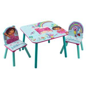 【お盆もあすつく】デルタ Delta テーブル & チェア 2脚 セット Table & Chair Set 子供部屋 キッズ 机 イス 木製 椅子|glv|25