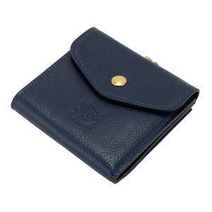 イルビゾンテ Il Bisonte がま口財布 二つ折り財布 C0423 P PORTAFOGLIO 財布 レザー 革 プレゼント glv 20