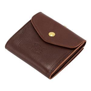 イルビゾンテ Il Bisonte がま口財布 二つ折り財布 C0423 P PORTAFOGLIO 財布 レザー 革 プレゼント glv 21