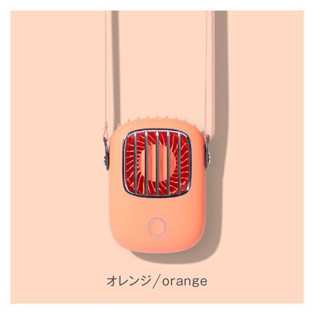 USB 扇風機 首かけ ハンディファン ミニ扇風機 卓上 ハンディ ミニ扇風機 持ち運び 携帯 小型 可愛い おしゃれ fan-09 gochumon 19
