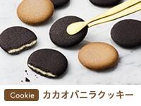 カカオバニラクッキー