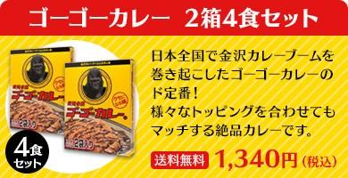 ゴーゴーカレー 2箱4食セット