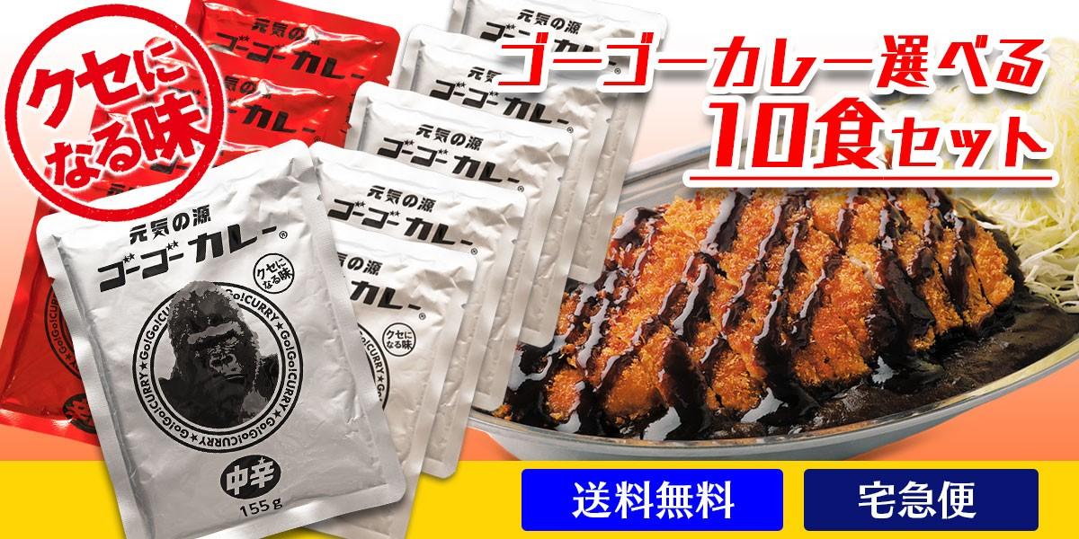 ゴーゴーカレー 選べる10食セット
