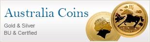 Australia Coins Gold & Silver  BU & Certfied