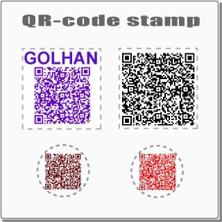 QRコードスタンプ