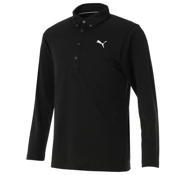 1ee8461f42f5a プーマ ゴルフ LS ポロシャツ 長袖ボタンダウンシャツ 923617 :a ...