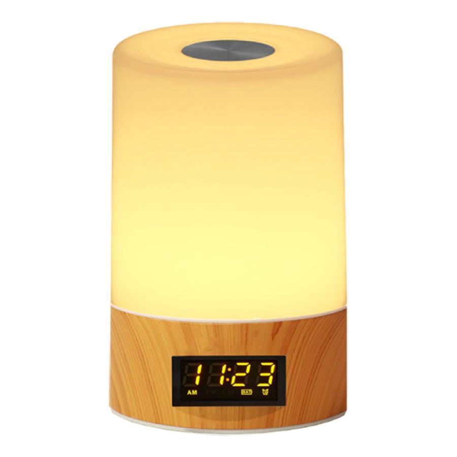 2021年 新商品 光 目覚まし時計 間接照明 授乳ライト デジタル時計 LED ライト 目覚まし USB 充電 調光 調色 ナイトライト 卓上 小型 コンパクト 快眠 コードレ|golwis|20