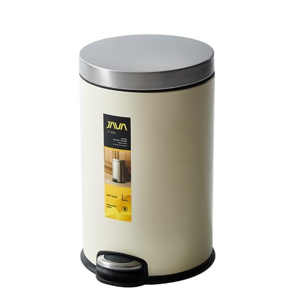 JAVA Effie ペダルビン ステンレス ゴミ箱 12L  / インナーボックス付 15Lゴミ袋対応 丸型ペダル式 ダストボックス|gomibako-world|08