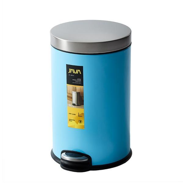 JAVA Effie ペダルビン ステンレス ゴミ箱 12L  / インナーボックス付 15Lゴミ袋対応 丸型ペダル式 ダストボックス|gomibako-world|13