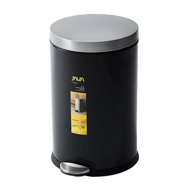 JAVA Effie ペダルビン ステンレス ゴミ箱 20L  / インナーボックス付 30Lゴミ袋対応 丸型ペダル式 ダストボックス|gomibako-world|08