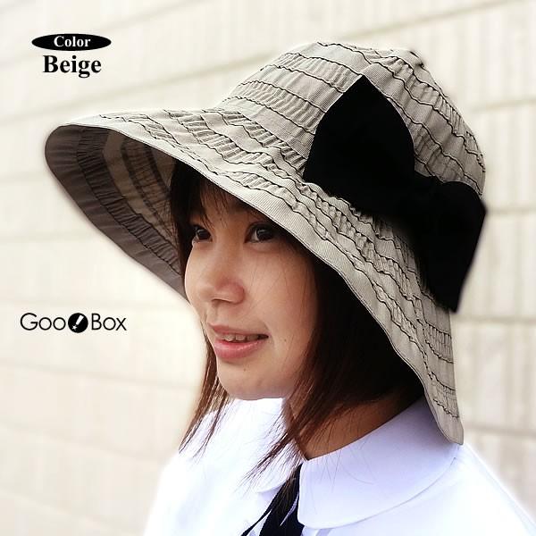 UV 帽子 レディース UV ハット レディース UVケア つば広ハット レディース 春夏 帽子