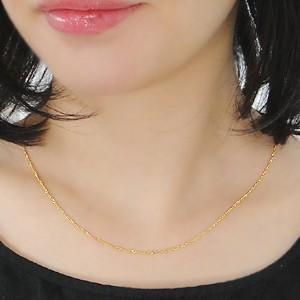 商品画像3 k24 純金 スクリューネックレス 43cm