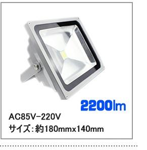 LED投光器 20W AC