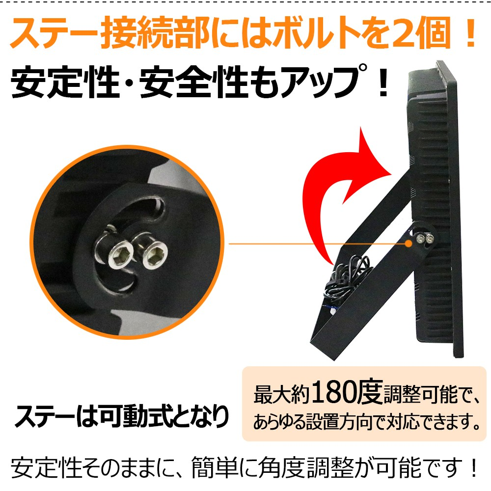 hid 1000w形投光器 投光器 LED 400w 長寿命 コスト削減