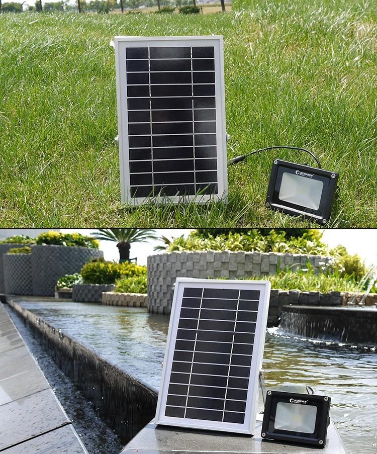 ソーラーパネル 太陽光発電 屋外 ガーデン ガーデンライト 防犯灯 LEDライト 作業灯
