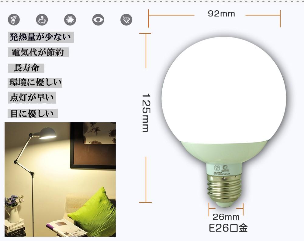 led 照明器具 省エネ 光が広がるタイプ DQ09 口金E26