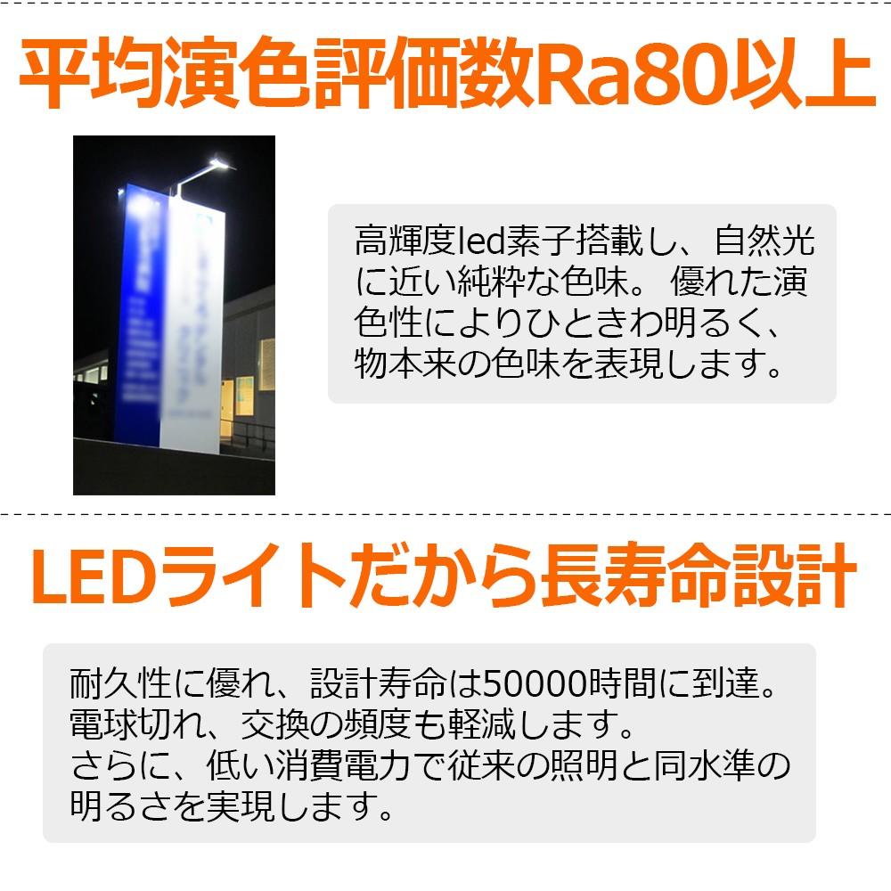 薄型 led投光器 100w スポットライト 薄型設計 庫内作業