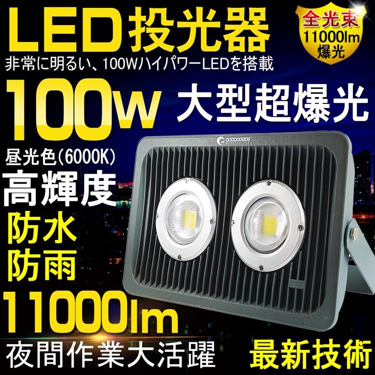 """LED投光器"