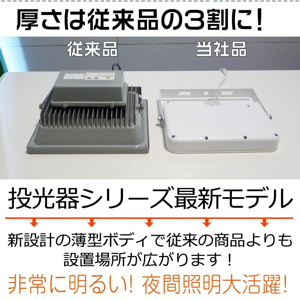 最新モデル LED投光器 50w 500w相当 夜間作業大活躍 屋外照明 明るい 看板灯 AC100V LEDライト 充電式
