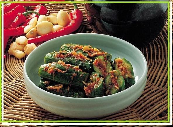 *韓国食品*花菜(ファーチェ)オイキムチの素 89g
