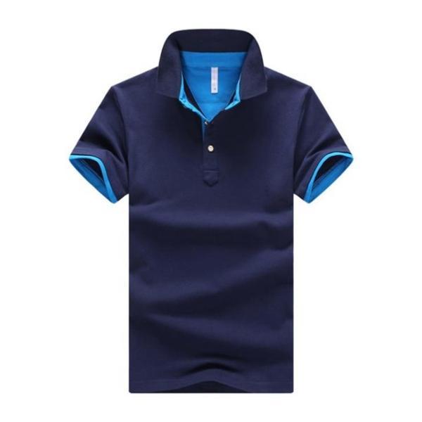 ポロシャツ 半袖 メンズ 無地  ポロ シャツ カジュアルシャツ 制服 ユニフォーム クールビズ ゴルフ ビジネス 代引不可|goodplus|19