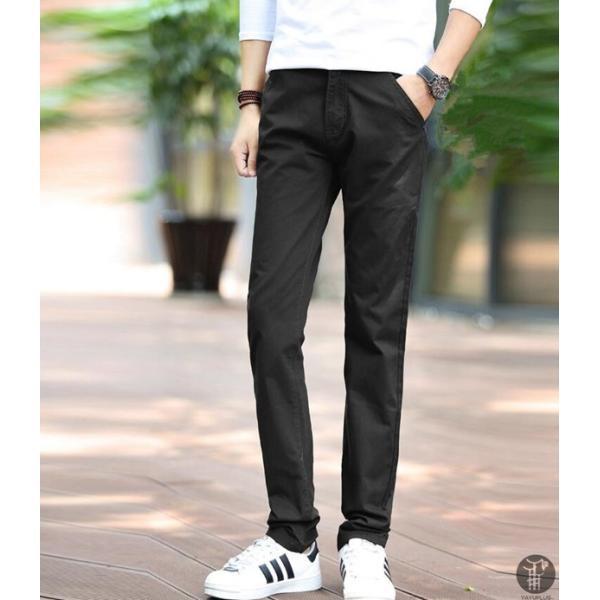 チノパン メンズ ボトムス スキニーパンツ 細身 カラーパンツ 8カラー スリムパンツ メンズ コットン リネン パンツ 代引不可|goodplus|16